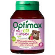 Optimax Multi kids vitaminen extra 90 kauwtabletten
