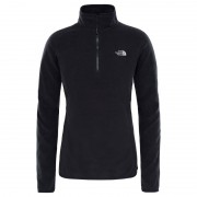 The North Face Women's 100 Glacier 1/4 Zip Svart