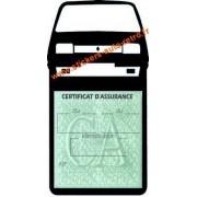 Porte vignette assurance auto Renault R5