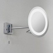 Astro Gena Cosmetica spiegel cosmeticaspiegel exclusief G9 chroom 35x22cm IP44 staal A++ 0488