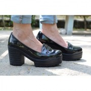 Trendy Look Black Heels