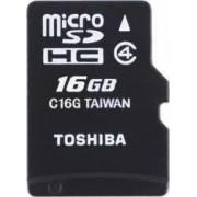Card memorie Toshiba Micro SDHC 16GB Class 4
