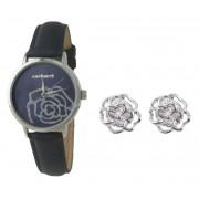 Cadou Blue Roses Ceas Cacharel & Cercei Roses Borealy