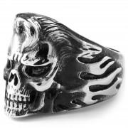 Trendhim Stål Elvisskalle Ring