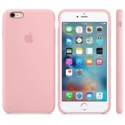 Husa Originala Apple iPhone 6S PLUS / iPhone 6 PLUS Silicon Cotton Candy Roz