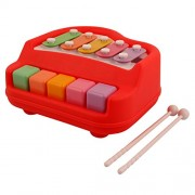 Rvold Musical Xylophone and Mini Piano, Non Toxic, Non-Battery, Colorful (Color May Vary)