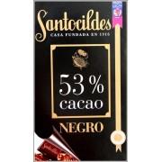 CHOCOLATE NEGRO 53 CACAO 200 GRAS