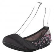 Butterfly Twists Sophia Black Scattered Floral, Shoes, svart, EU 38