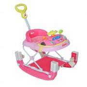 D´Bebé Andaderas para Bebes Mecedora Beetle Bocho Lujo MSI varios colores (Color Rosa) D´Bebé D´Bebé DANDADERAGOGO-ROSA-Premium