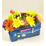 Penar cu flori multicolore