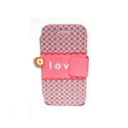 "Capa Protetora ""Flip Book Fashion Less Love"" Huawei G526"