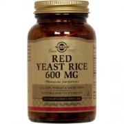 Red Yeast Rice 600mg 60cps Solgar