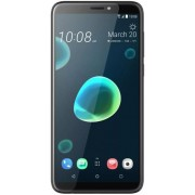"Telefon Mobil HTC Desire 12 Plus, Procesor Octa-Core 1.8GHz, LCD IPS Capacitive Touchscreen 6"", 3GB RAM, 32GB Flash, Camera Duala 13+2MP, 4G, Wi-Fi, Dual Sim, Android (Cool Black) + Cartela SIM Orange PrePay, 6 euro credit, 4 GB internet 4G, 2,000 minute"