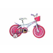 Bicicleta copii 14 Barbie Dino Bikes