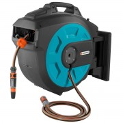Gardena Wall-Mounted 35m Hose Box with Automatic Roll-Up 8024