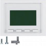 BERKER - 75860079 - K.1/K.5 - info display, branco 25