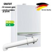 Centrala termica in condensatie VAILLANT green IQ ecoTEC exclusive VUW 356/5-7, 26,4kW - Incalzire + A.C.M.