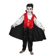 Kaku Fancy Dresses Vampire Dracula Cosplay Costume/CaliFor Kidsnia Costume/Halloween Costume For Kids School Annual function/Theme Party/Competition/Stage Shows Dress