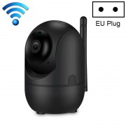HD Cloud draadloze IP-camera intelligent auto tracking Human Home Security Surveillance netwerk WiFi camera plug type: EU plug (720P zwart)