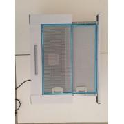 60 cm, Páraelszívó NoraPro, 450m3/óra, kihúzható, beépíthető, fehér, 60 cm, 2 motor, 3 fokozat, LED