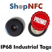 Etiqueta NFC industrial IP68 NTAG21x antimetal 34mm