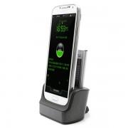 Carregador de Mesa para Samsung Galaxy S4 I9500, I9505, I9502 - Carregador Duplo