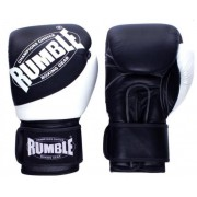 Rumble bokshandschoen Rumble Fighter (Zwart - Wit)