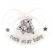 dudlík ROCK STAR BABY - Rose - 90224
