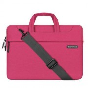 15.4 inch Cartinoe Starry Series Exquisite Zipper Portable Handheld Laptop Bag with Removable Shoulder Strap for MacBook Lenovo and other Laptops Internal Size:39.0x27.5x3.5cm(Pink)