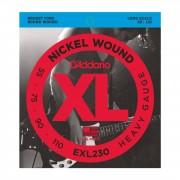 D'Addario Bass Strings XL Nickel 55-110 55-75-90-110, EXL230