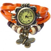 True Colors VINTAGE LEATHER WATCH Analog Watch - For Men Women