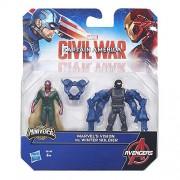 Hasbro UK ltd Captain America: Civil War Team Vs 2. 5Inch Figures - Vision & Winter Soldier