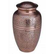Grote Messing Urn Bronzen Bladeren (3.2 liter)