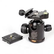 ELECTROPRIME® Q02 Tripod Ball Head Ballhead w/Quick Release Plate for DSLR Camera Tripod