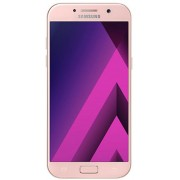 "Telefon Mobil Samsung Galaxy A5 (2017), Procesor Octa-Core 1.9GHz, Super AMOLED Capacitive touchscreen 5.2"", 3GB RAM, 32GB Flash, 16MP, 4G, Wi-Fi, Dual-Sim, Android (Roz) + Cartela SIM Orange PrePay, 6 euro credit, 4 GB internet 4G, 2,000 minute nationale"