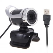 A859 12.0 Mega Pixels HD 360 Degree WebCam USB 2.0 PC Camera with Sound Absorption Microphone for Computer PC Laptop Cable Length: 1.5m