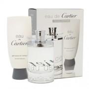 Cartier Eau De Cartier, Edt 100ml+ 100ml Sprchový gel