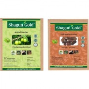 100 Natural Shikakai Or Amla Powder 400Gm (Pack Of 2) Permanent Hair Color