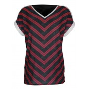 AMY VERMONT Shirts, Damen, schwarz, mit metallisiertem Garn