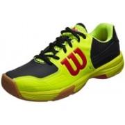 Wilson Recon Tennis Shoes For Men(Yellow, Black)