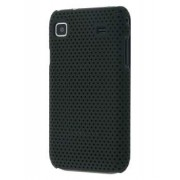 Slim Mesh Case for Samsung I9000 Galaxy S - Samsung Hard Case (Black)