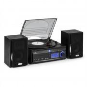 Auna DS-2 стерео система с грамофон MP3 запис (MG-DS28)