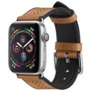 Apple Spigen Retro Fit Apple Watch 44MM / 42MM Bandje Kunst Leer Bruin