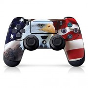 """Controller Gear Authentic and Officially Licensed PS4 Controller Skin """"Bald Eagle #2"""" (PlayStation 4 Controller Sold Separately) PlayStation 4"""