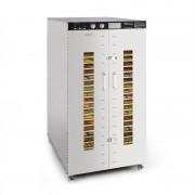 Klarstein Master Jerky 24, szárítógép, 4500 W, 40 - 90 °C, 15 órás időzítő, nemesacél, ezüst (DHY6-MasterJerky24)