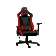 Digital Design Silla Gamer Champion Red, Negro/Rojo