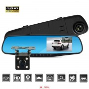 Camera Auto Oglinda Full HD SM540 + MicroSD 16Gb, CAR Triple
