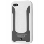 COCASES Dual-Design Case for iPhone 4S/4 - Apple Dual-Design Case (Pearl White/Clear)