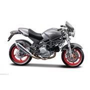 Ducati Monster S4 gris, Maisto Moto Mod¨¨le 1:18, EMBALLAGE D'ORIGINE, Neuf /ITEM#G839GJ UY-W8EHF3189407