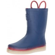 Western Chief Kids Rechargeable LED Rain Boot, Navy, 10 M US Toddler